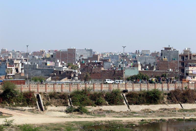 Delhi esterna fotografia stock