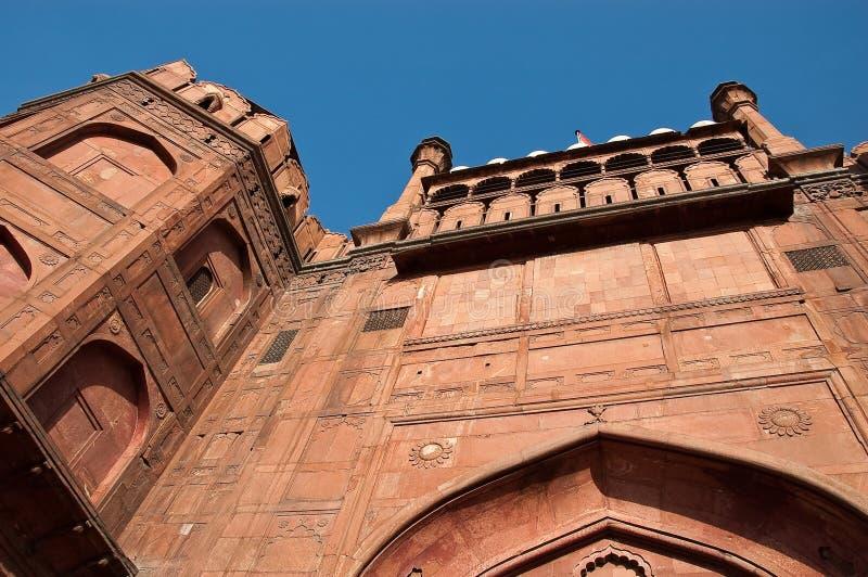delhi fortu czerwień fotografia royalty free