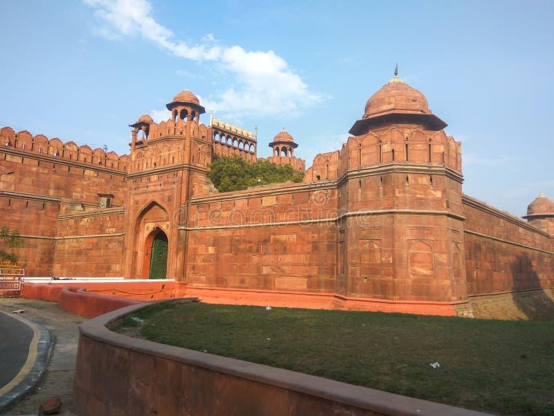 Delhi fortu czerwoni ind zdjęcie stock