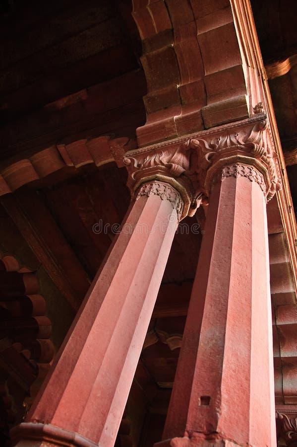 delhi fortu filaru czerwień zdjęcia stock
