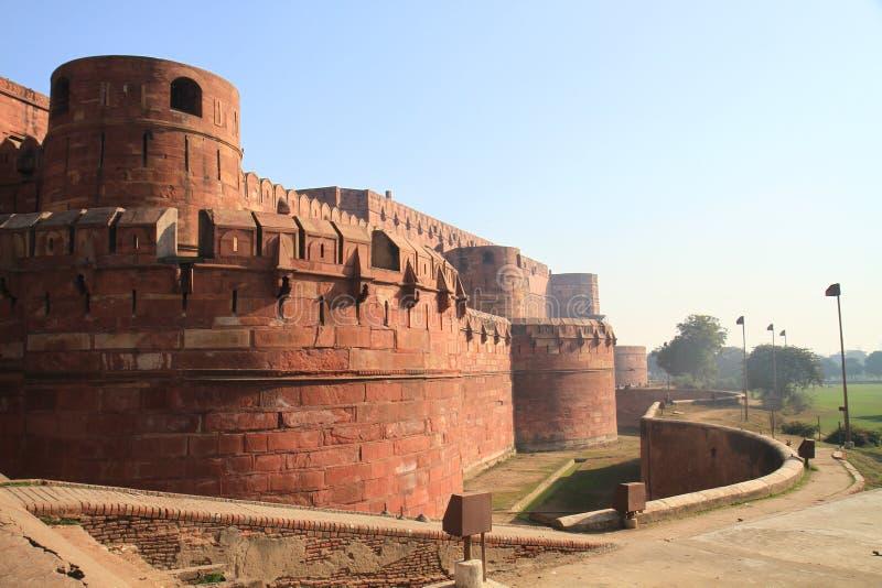 delhi fortu ind czerwoni zdjęcie royalty free