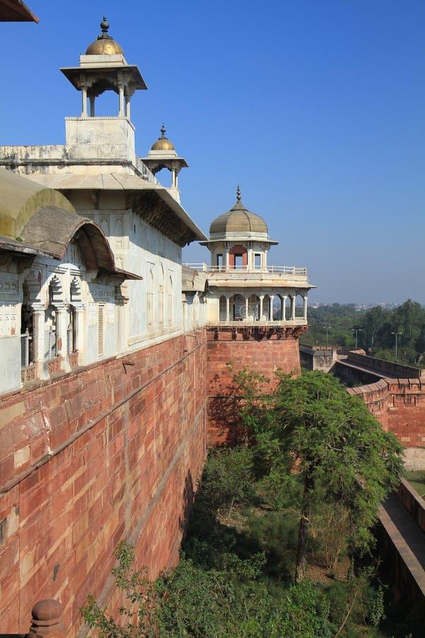 delhi fortu ind czerwoni obraz royalty free