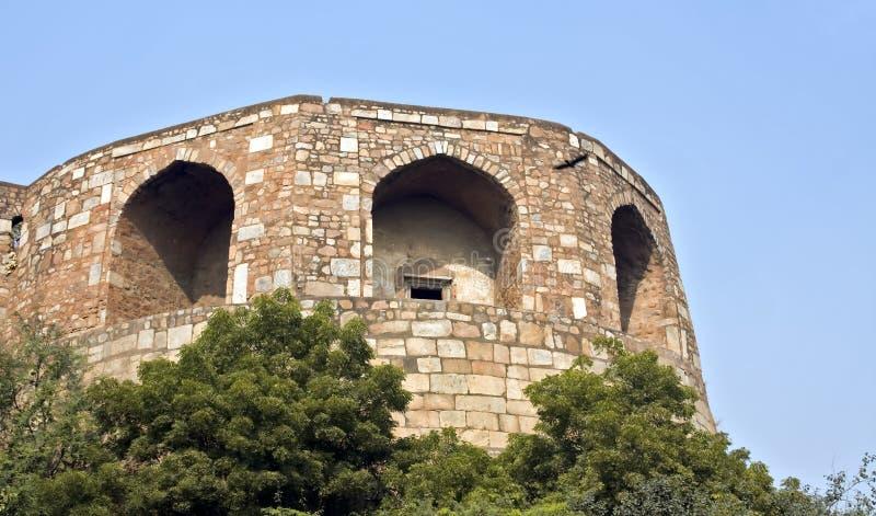 delhi fortu stary purana qila zdjęcia royalty free