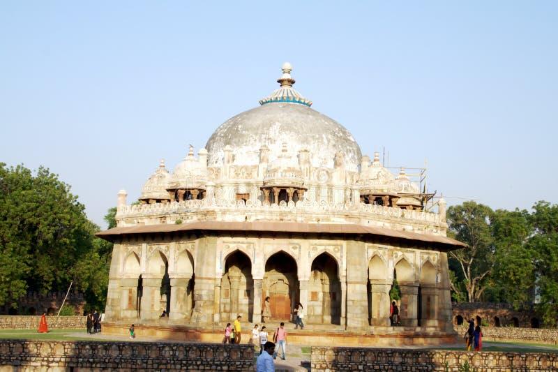 delhi grobowiec khan nowy isa fotografia royalty free