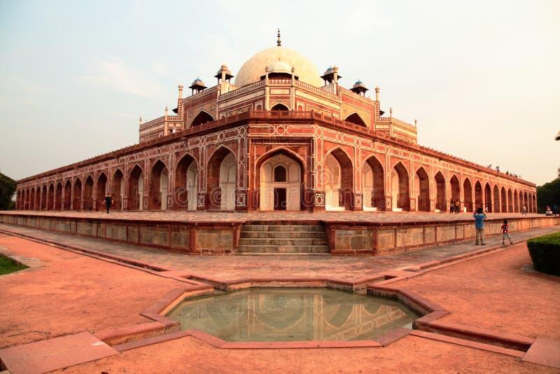 delhi humayun nowy s grobowiec fotografia stock