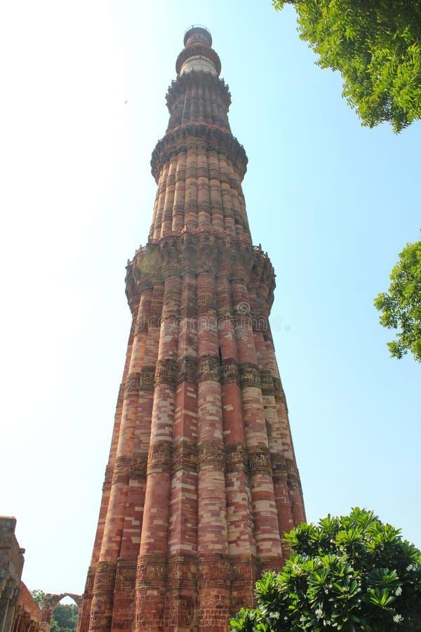 delhi ind minar nowy qutub obraz stock