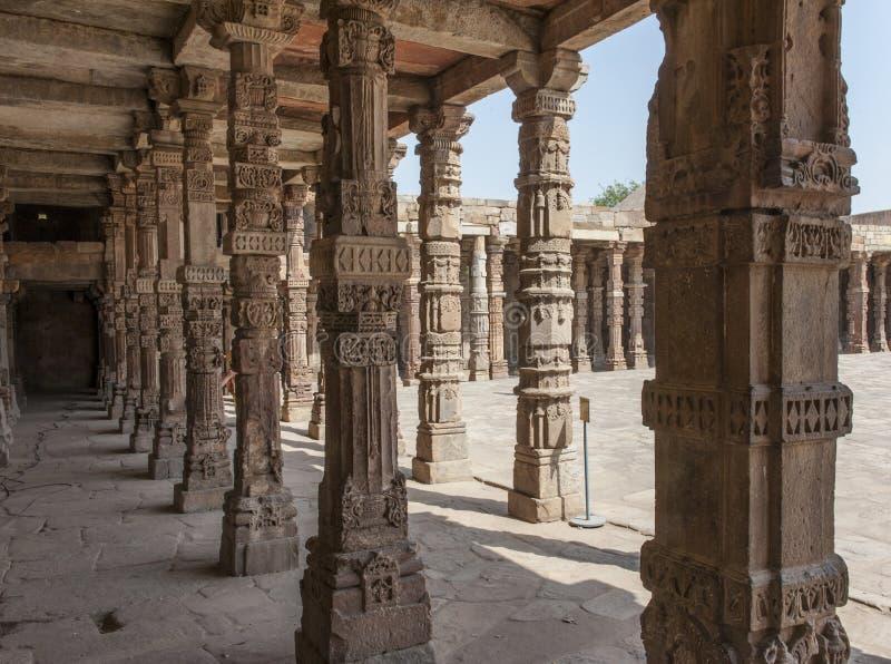 delhi minar qutb royaltyfria foton