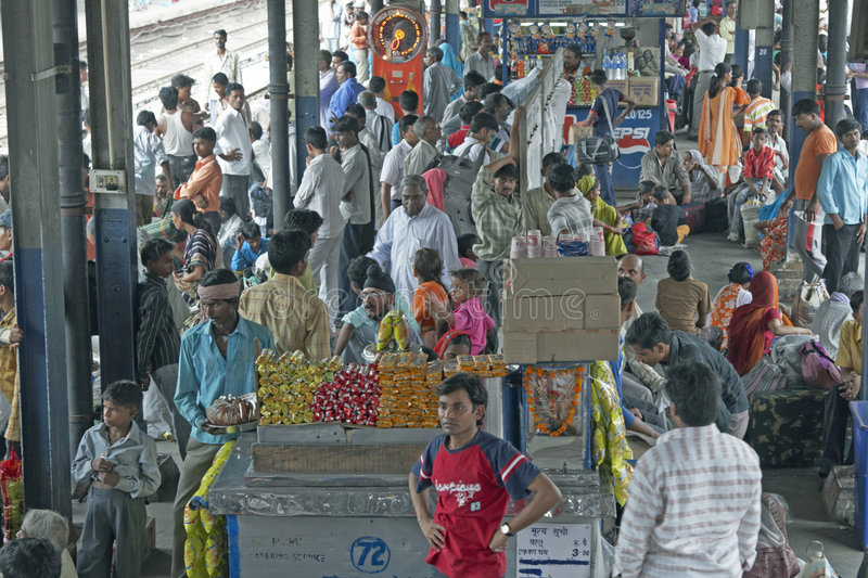 Download Delhi Train Station Editorial Photography - Image: 5996877