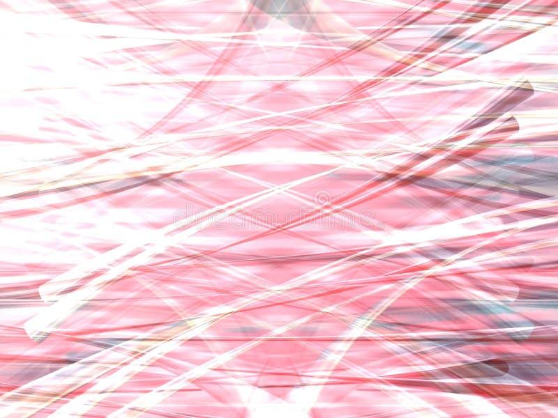 Delicado cor-de-rosa ilustração do vetor