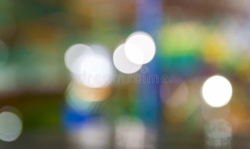 Delicatamente il dolce ha offuscato il fondo di colore pastello con bokeh naturale a fotografie stock libere da diritti