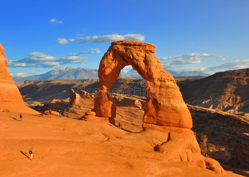 Delicate Arch royalty free stock photography