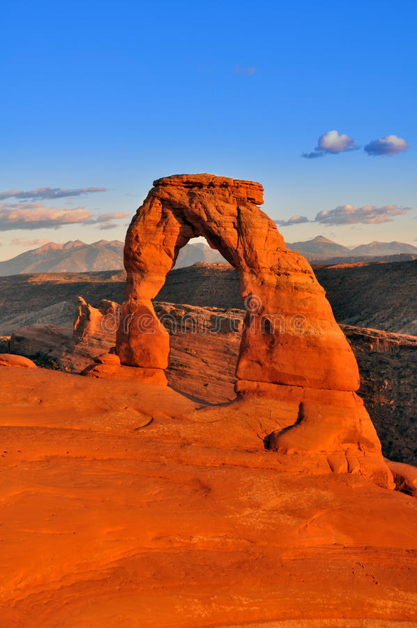 Download Delicate Arch stock photo. Image of delicate, formation - 11987902