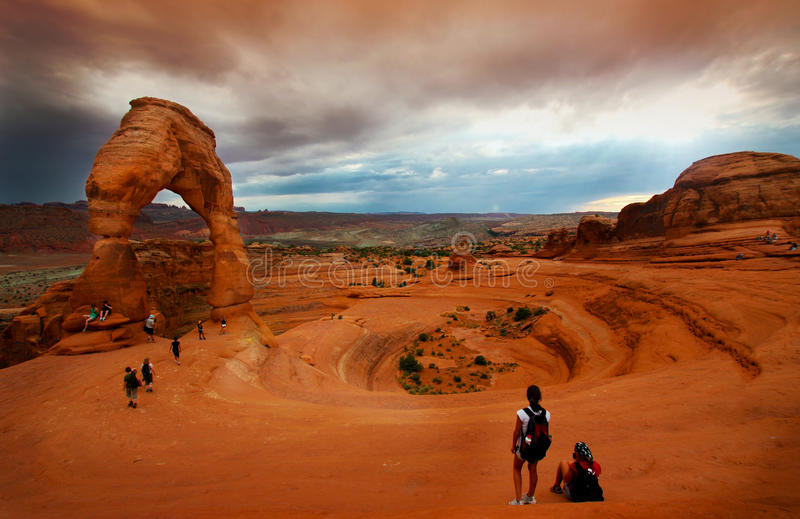 Delicate Arch Editorial Photography