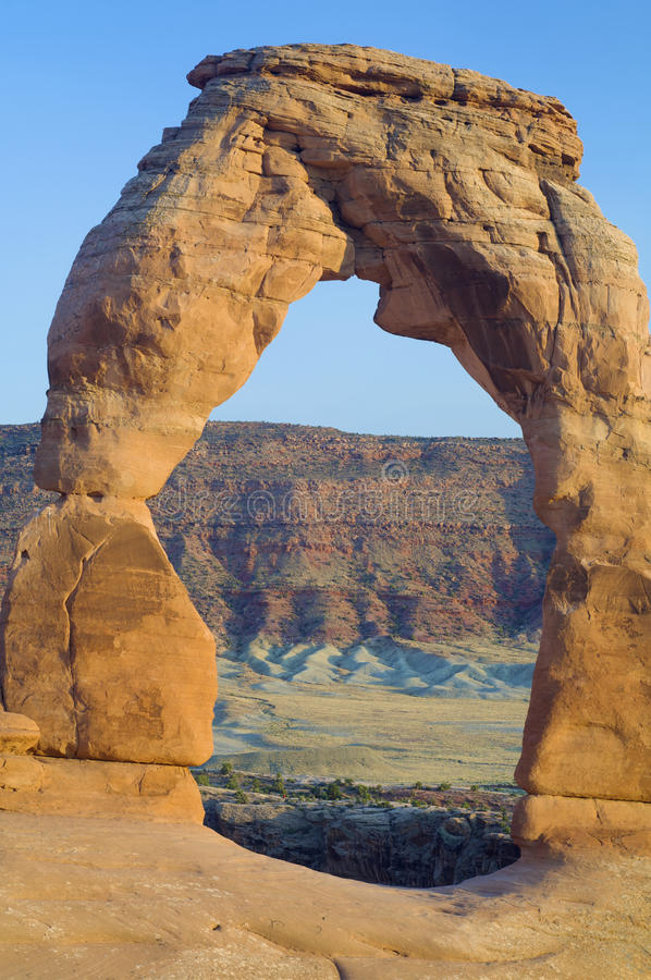 Download Delicate  Arch stock image. Image of landmark, ecosystem - 24883797