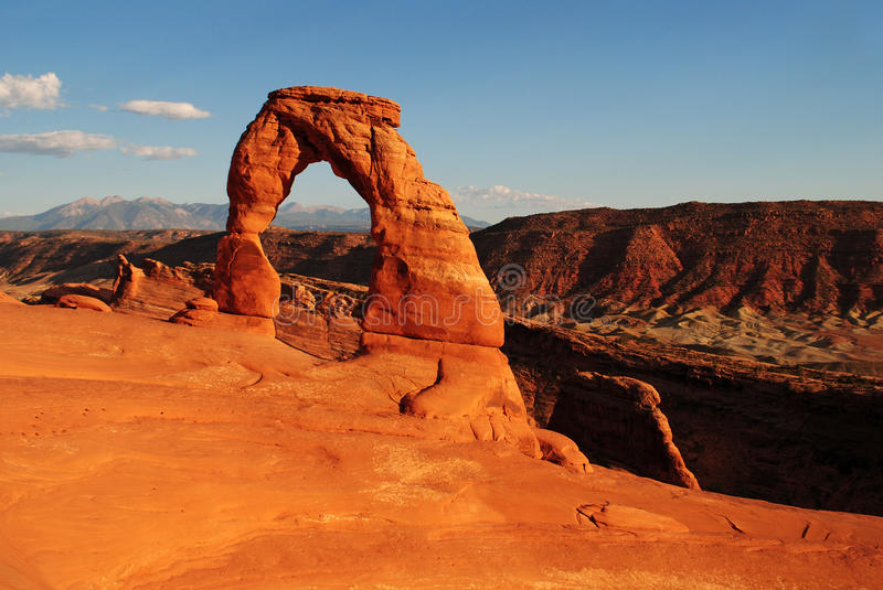 Download Delicate Arch stock image. Image of formation, geological - 26864881