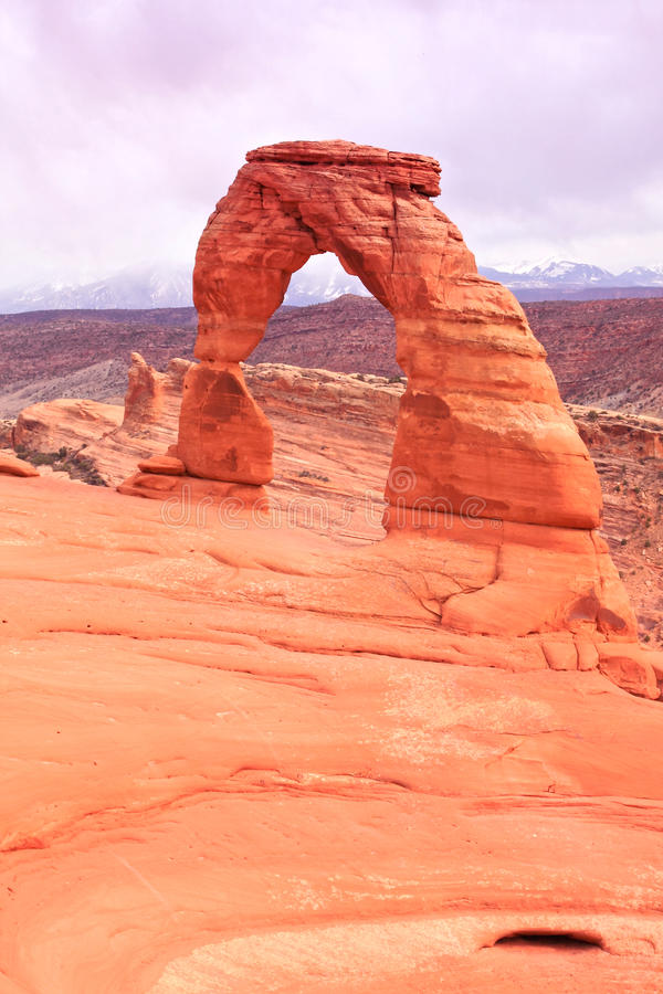 Download Delicate Arch.Arches National Park Stock Photo - Image: 14620078