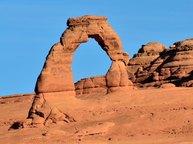 Delicate Arch, Arches National Park stock image