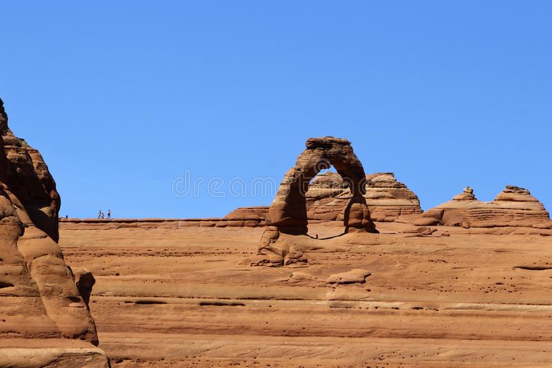 Delicate Arch is probably the most famous arch in the world. Utha, USA. Delicate Arch is probably the most famous arch in the world. The undoubtedly the most royalty free stock photo