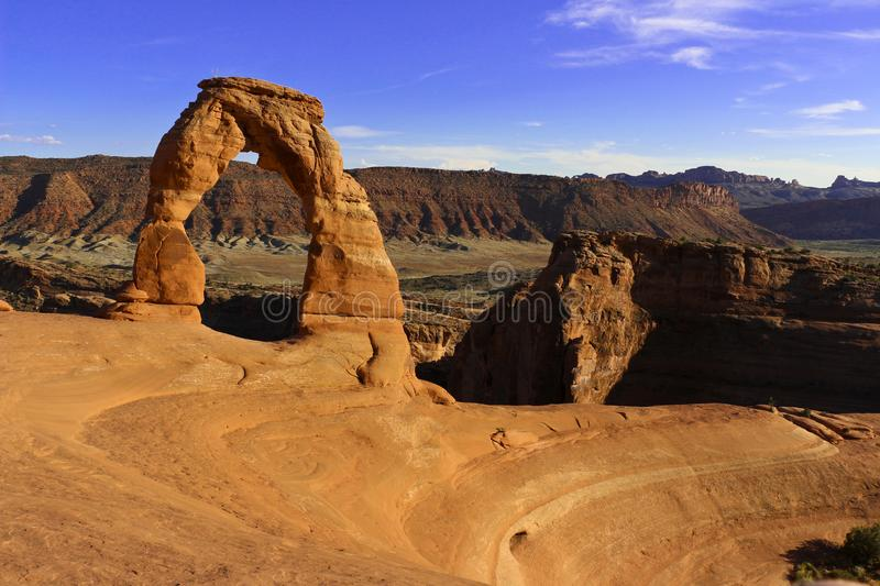 Delicate Arch is probably the most famous arch in the world. Utha, USA. Delicate Arch is probably the most famous arch in the world. The undoubtedly the most royalty free stock images