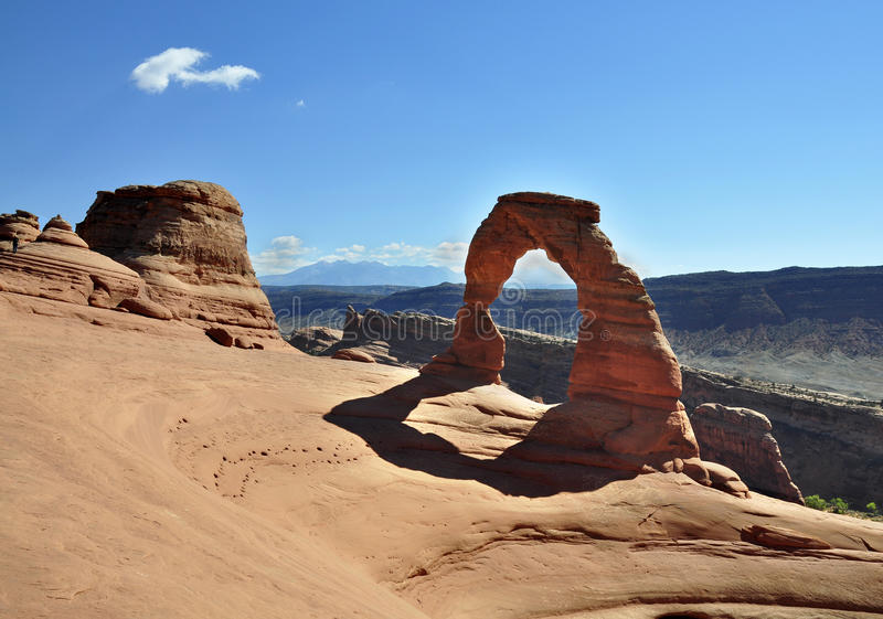 Delicate Arch Utah Royalty Free Stock Images