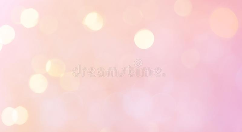 Delicate Beautiful Background with bokeh stock photo