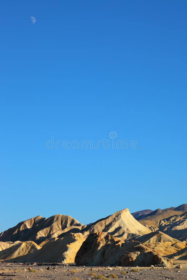 Delicate Crescent Moon Stock Images
