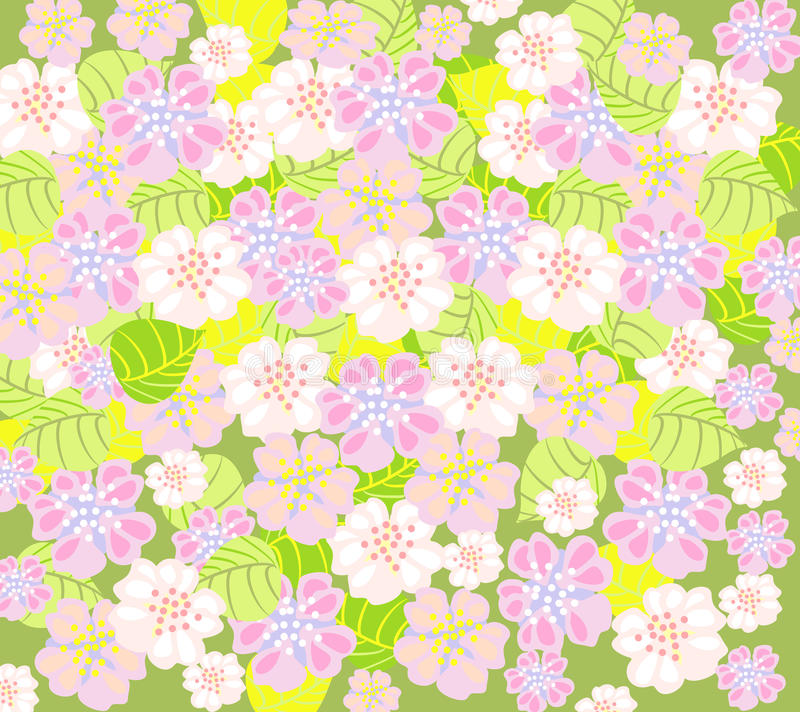 Download Delicate floral background stock vector. Image of painting - 24766010