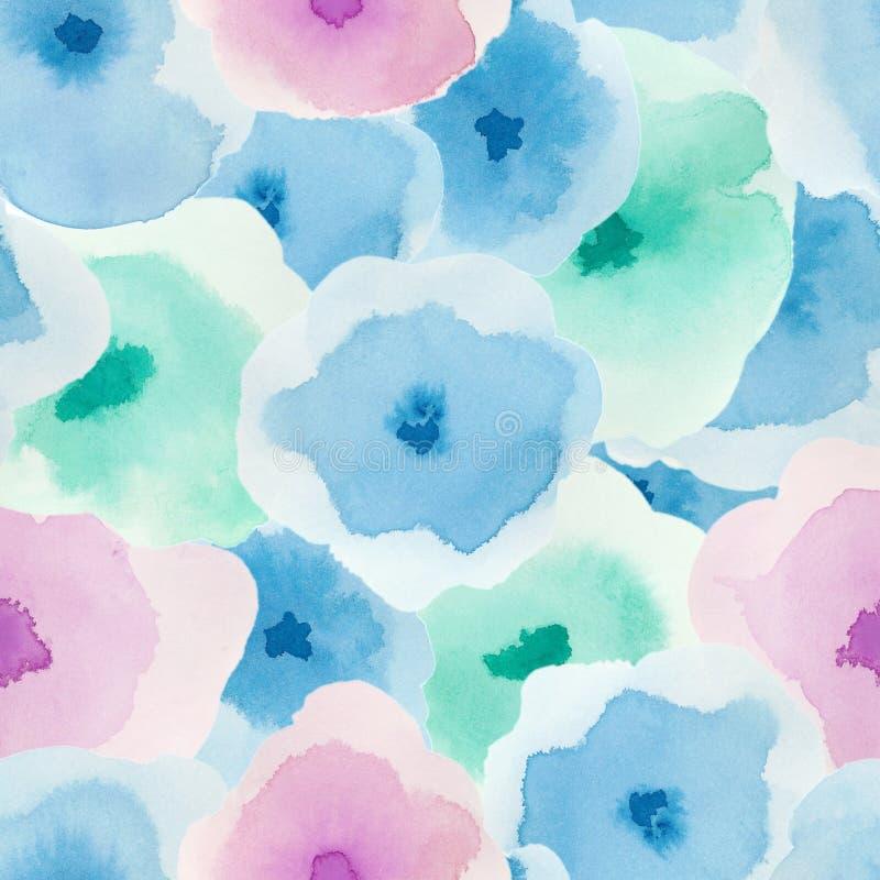 Delicate floral pattern. stock illustration