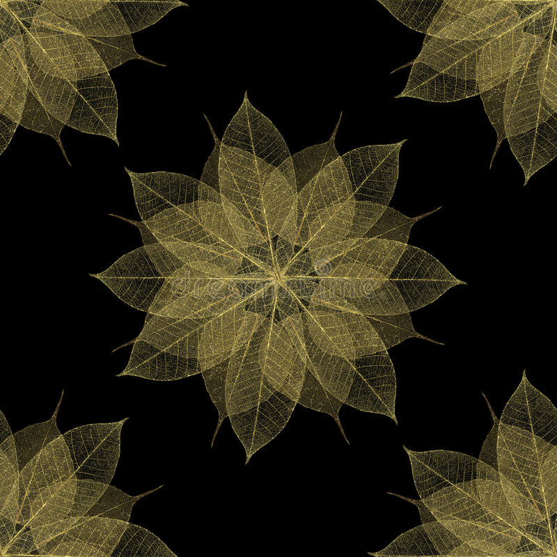 Download Seamless Floral Pattern Leaf Texture Stock Illustration - Image: 3071062
