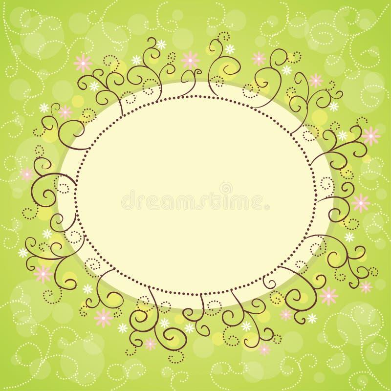 Download Delicate flower border stock vector. Image of frame, pattern - 26210623