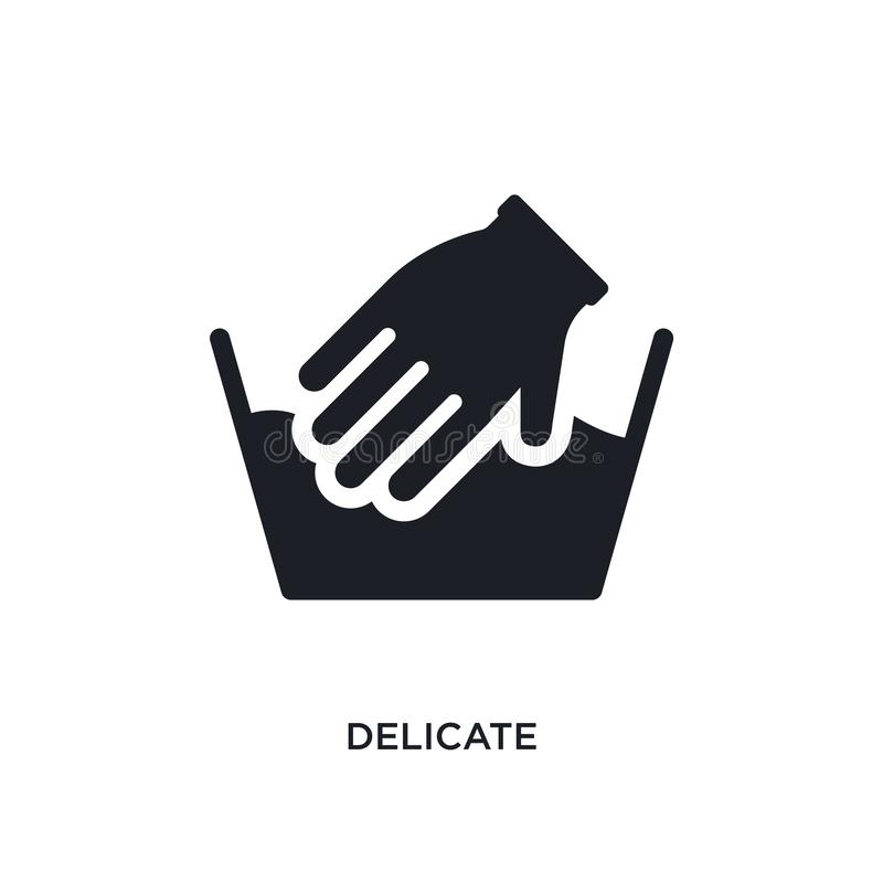 delicate isolated icon. simple element illustration from cleaning concept icons. delicate editable logo sign symbol design on royalty free illustration
