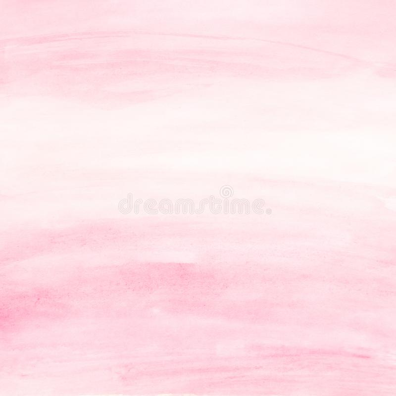 Delicate Light Pink Watercolor background for Design royalty free stock photography