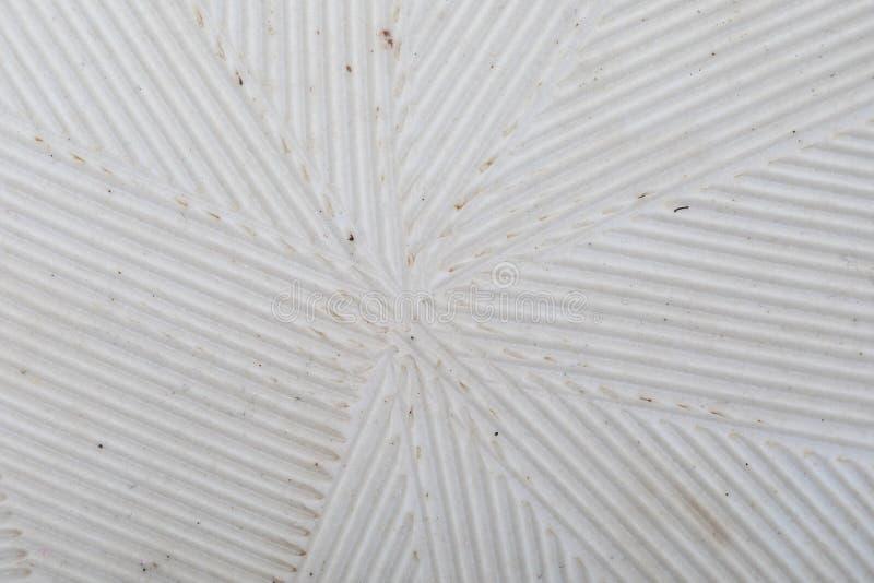 Delicate striped texture stria in white. Close-up of Suribachi and Surikogi Japanese. Streak mortar stock photos