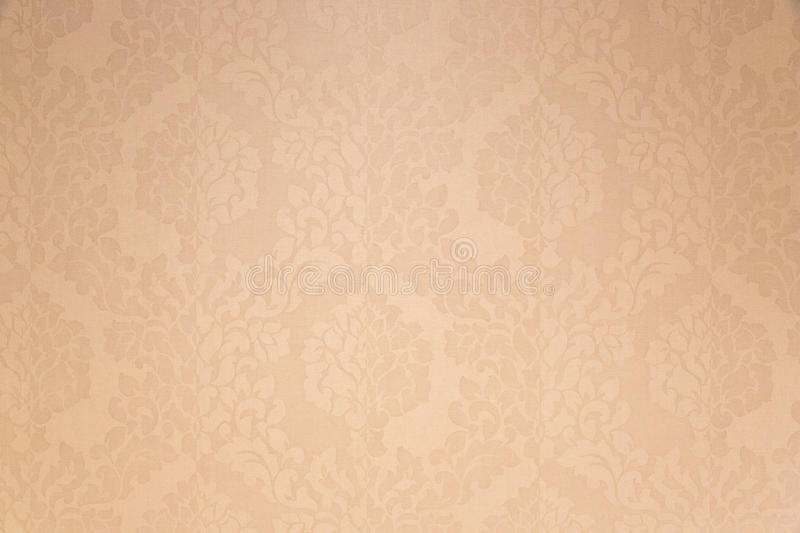 Delicate wallpaper. Wall decorated with a delicate wallpaper royalty free stock images