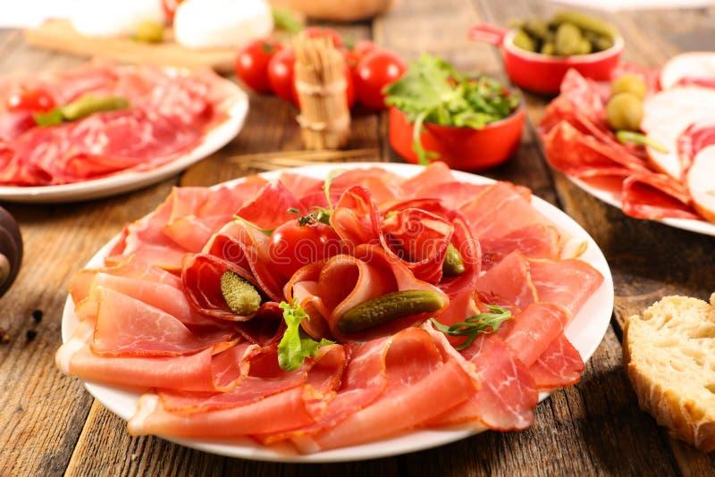 Delicatessen, sorvida de carnes fotos de stock