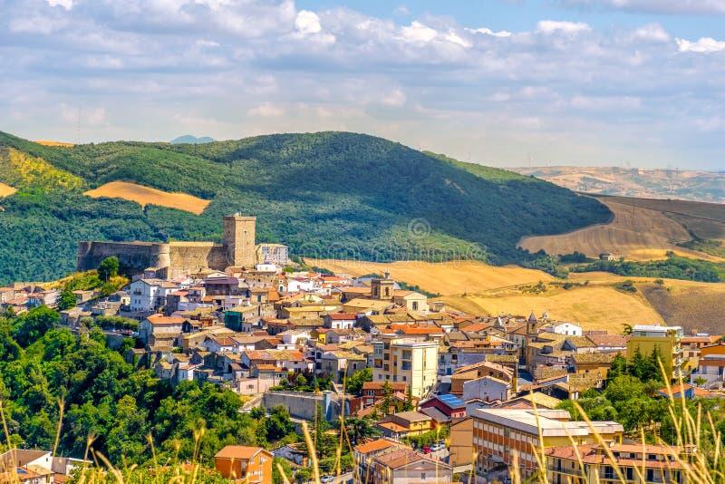 Deliceto - επαρχία του Foggia - Gargano - Apulia - Ιταλία στοκ εικόνα με δικαίωμα ελεύθερης χρήσης