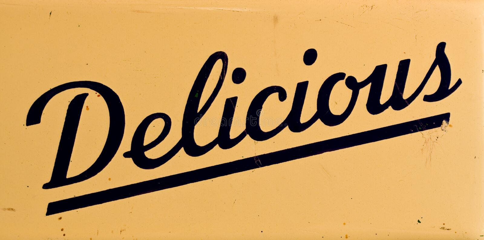 Download Delicious stock image. Image of word, delicious, eatery - 15218421