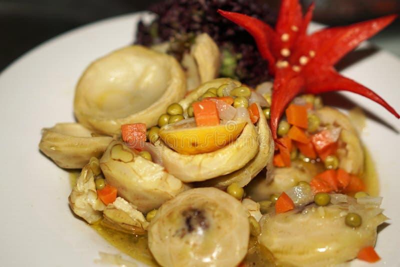 delicious artichoke plate royalty free stock photo
