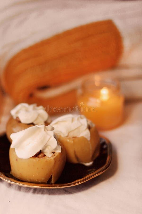 A delicious autumn dessert. 2019. stock image