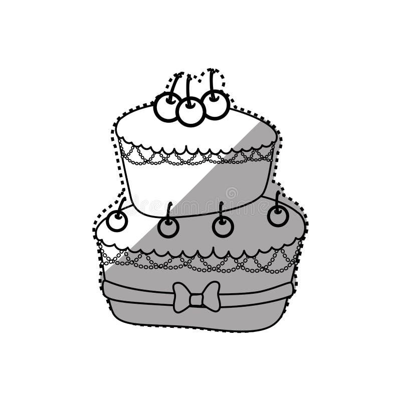 Delicious Birthday Cake Stock Illustration Illustration Of Food