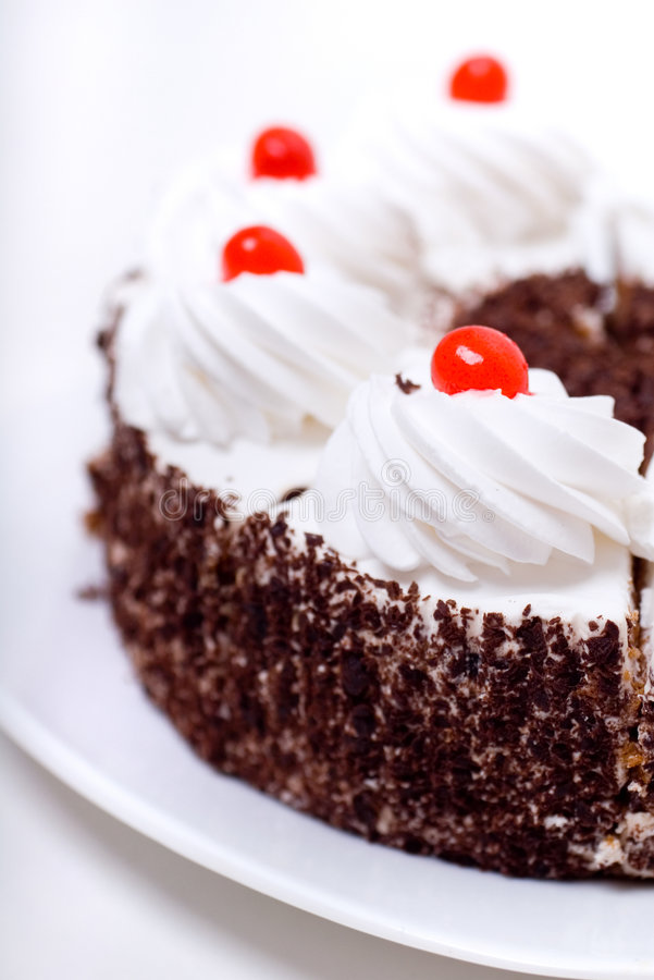Free Delicious Cake With Whipped Cream Stock Images - 1804174