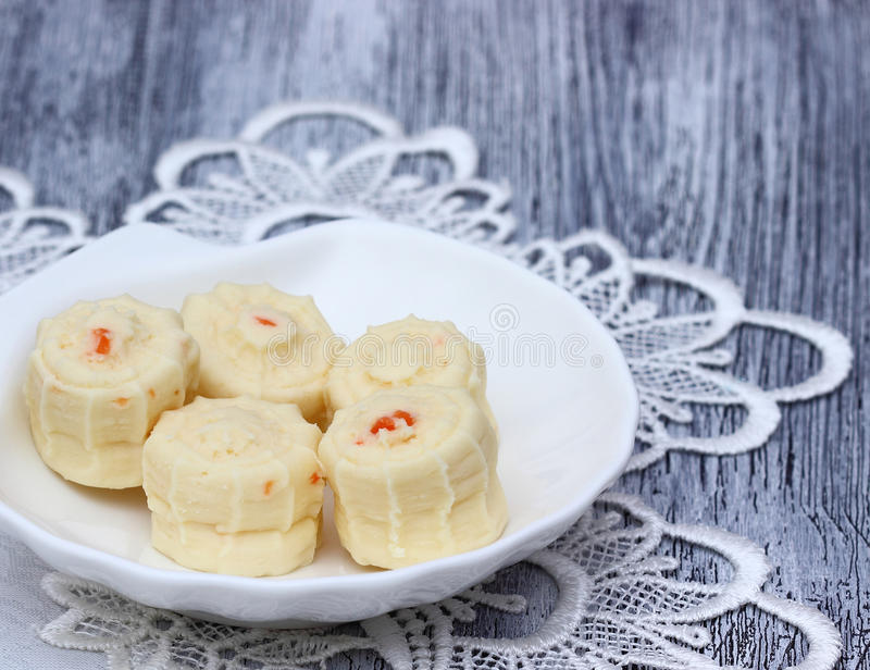 Delicious candy fudge. royalty free stock photos