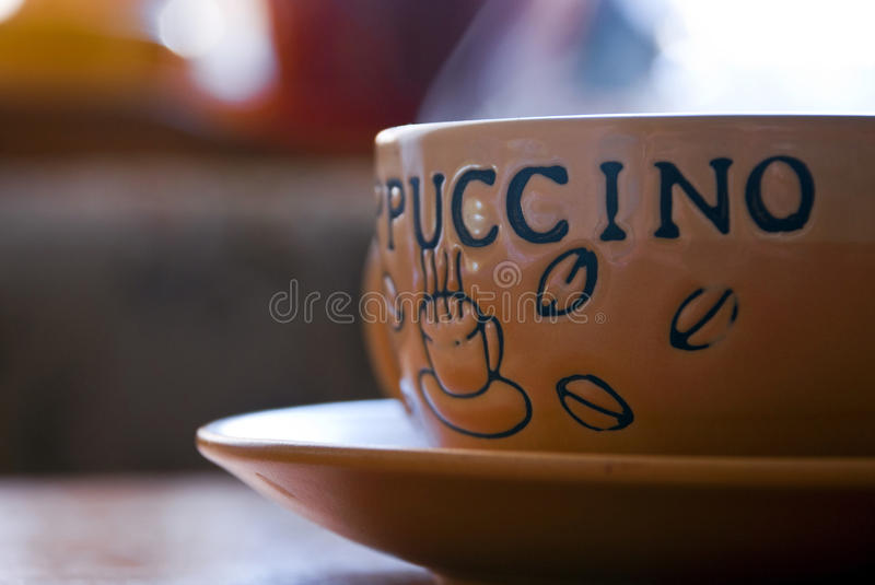 Delicious cappuccino royalty free stock images