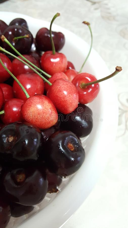 Delicious cherry royalty free stock photography