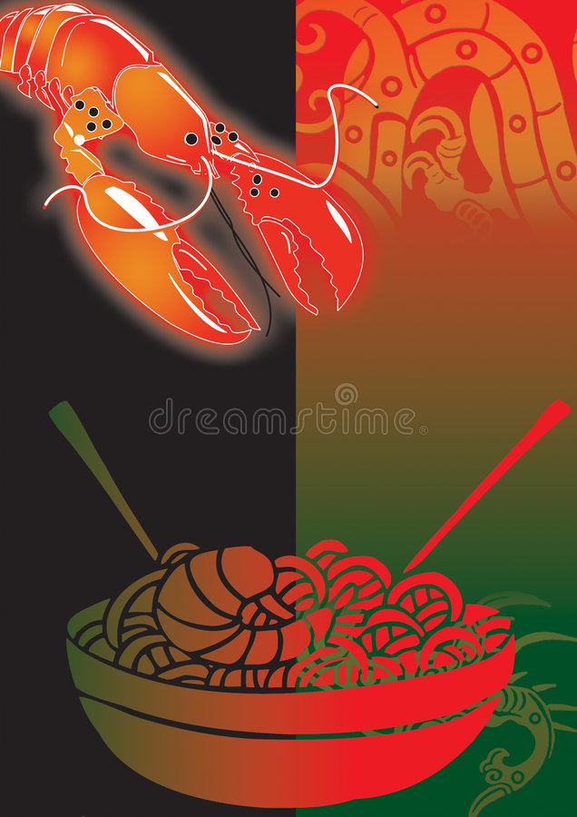 Delicious chinese vector illustration