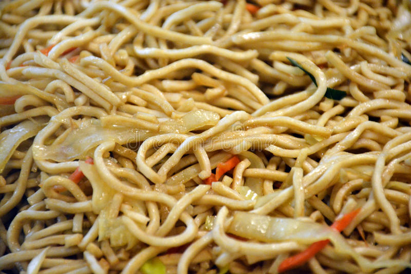 Delicious Chinese food, Noodles royalty free stock photo