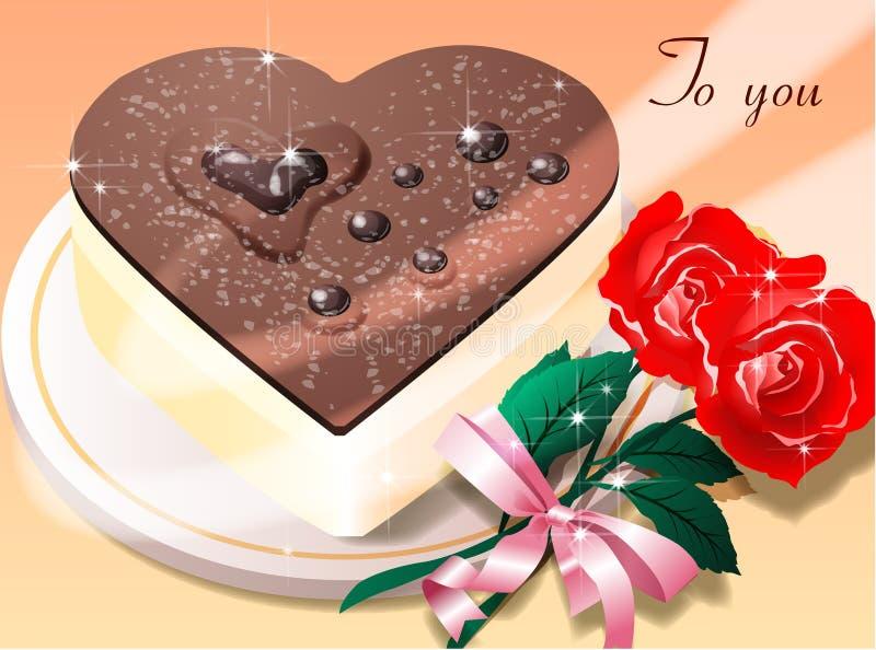 Delicious Chocolate Cake Stock Photos