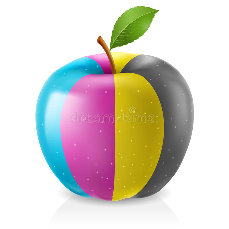 Download Delicious CMYK Apple Stock Images - Image: 21060924