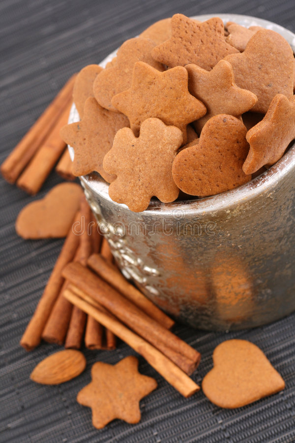 Delicious cookies royalty free stock images