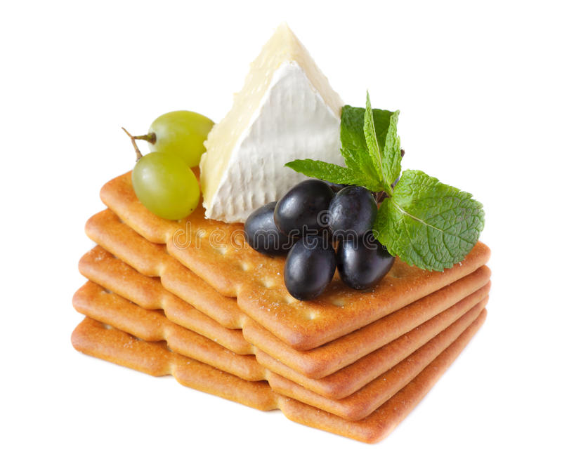 Download Delicious crackers. stock photo. Image of dairy, ingredient - 21289258
